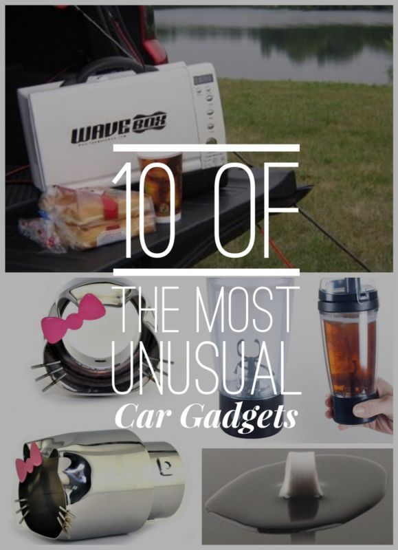 10 of the Most Bizarre Car Gadgets! Prepare to have your mind blown. #spon #CoolHunter