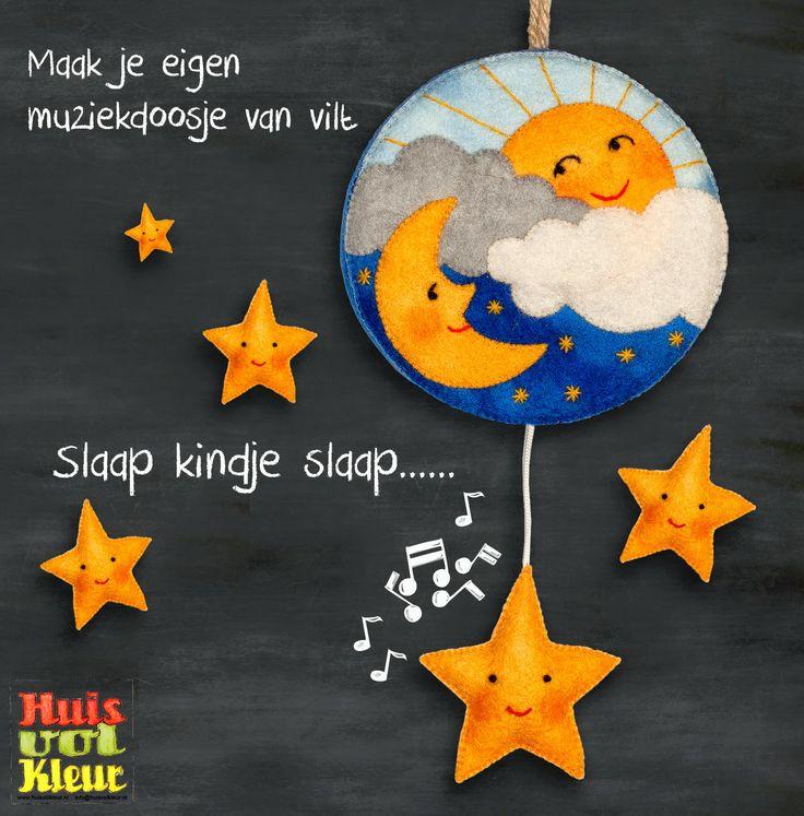 Huisvolkleur: Slaap kindje slaap...Muziekdoosje