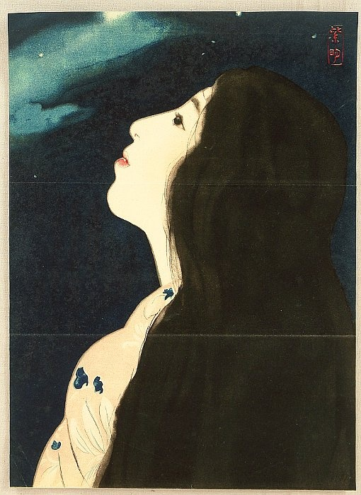 Starry Night Shimei Terajimma , ca 1915-1925
