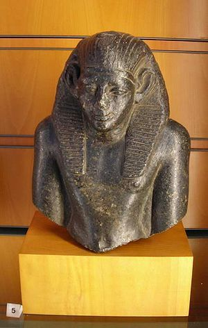 Amenemhet IV - The adopted son of Amenemhet III, (the 6th Pharaoh of the 12th dynasty). He co-reigned with Amenemhet III for 9 years over Upper and Lower Egypt, Elephantine and Lower Nubia and then suddenly disappeared. His ancestry is not recorded in Egyptian records. (Many believe him to be the Moses of the Bible who was born {1526BC}, raised by a princess in Pharaoh's household, http://creationwiki.org/Amenemhet_IV