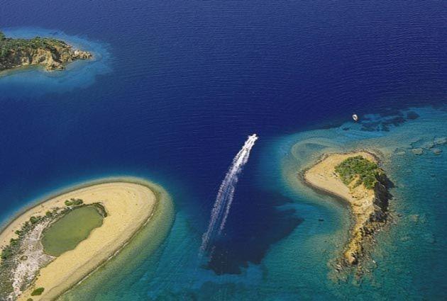 Gocek, Yassıca Islands,  private boat rental, www.barbarosyachting.com
