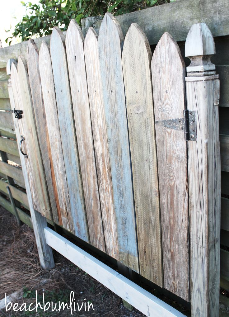 59 Incredibly Simple Rustic Décor Ideas That Can Make Your: Http://beachbumlivin.com Headboard Made To Look Like An