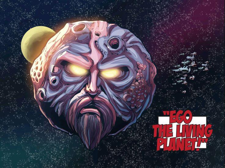 Персонаж Эго-Живая Планета (Ego the Living Planet)