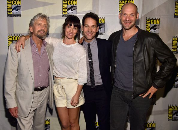 "Evangeline Lilly and Paul Rudd Photos: Marvel's Hall H Panel For ""Ant-Man"" And ""Avengers: Age Of Ultron"""