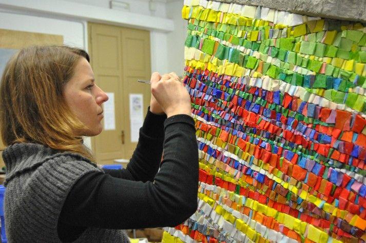 Spilimbergo: tornare a scuola e cimentarsi nell'arte del mosaico!