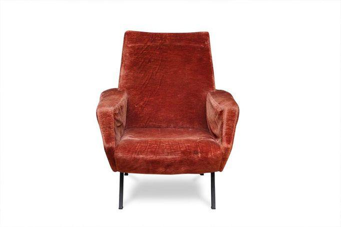 1000 idee su sedie di velluto su pinterest velluto blu for Poltrona ottanio