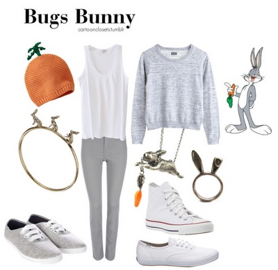 Bugs Bunny - Cartoon Couture: Fashion tips from our childhood icons