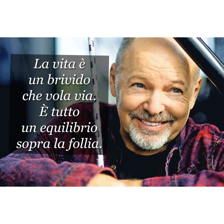 Vasco Rossi - Cit. da ''Sally''