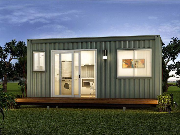 загородный дом из контейнеров