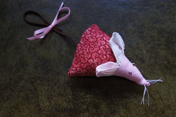 Lavender Mouse by TheCraftyPhoenixLady on Etsy, £3.00