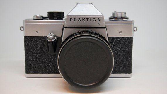 Praktica l kamera mit carl zeiss jena ddr objektiv tessar