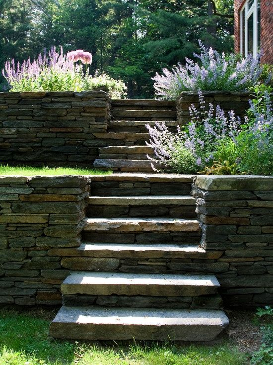 17 best images about steps on pinterest landscaping for Terrace steps
