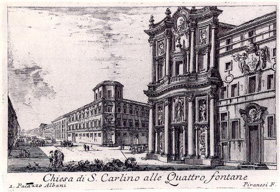 Giovanni Battista Piranesi, of 1745,