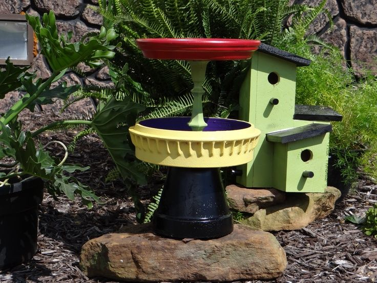 37 Best Bird Baths Images On Pinterest Gardening