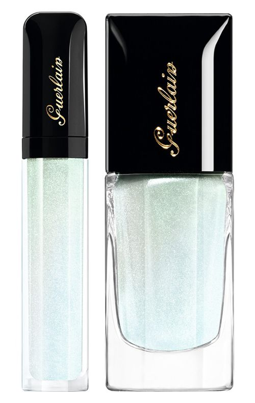 Blossom collection dazzling 'Star Dust' lip and nail lacquer
