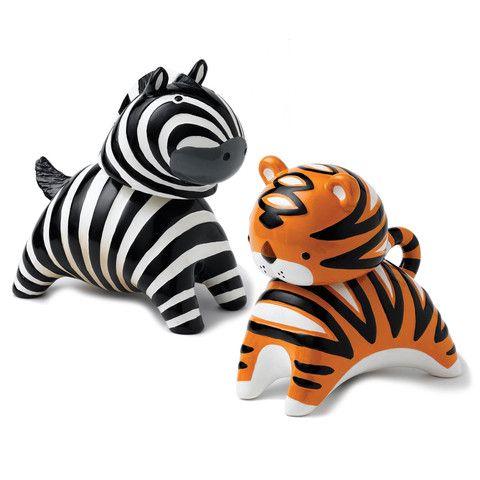 Nodibank Zebra & Tiger Money Banks – Yorkshire Trading Company