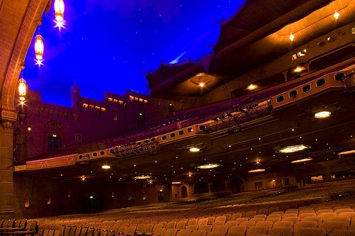 Fox Theatre in AtlantaStarry skies indoors! {Not All