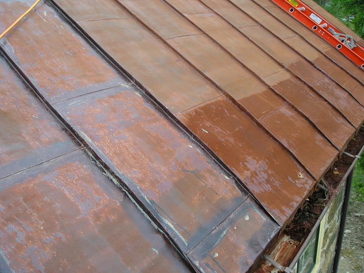 Best Re Painting A Metal Roof With Images Clay Roof Tiles 400 x 300