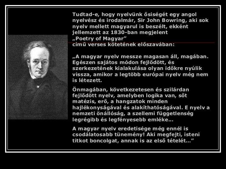 A magyar nyelv egyedisége