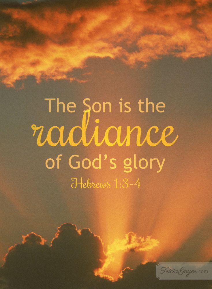 Verse of the Week -- Hebrews 1:3-4