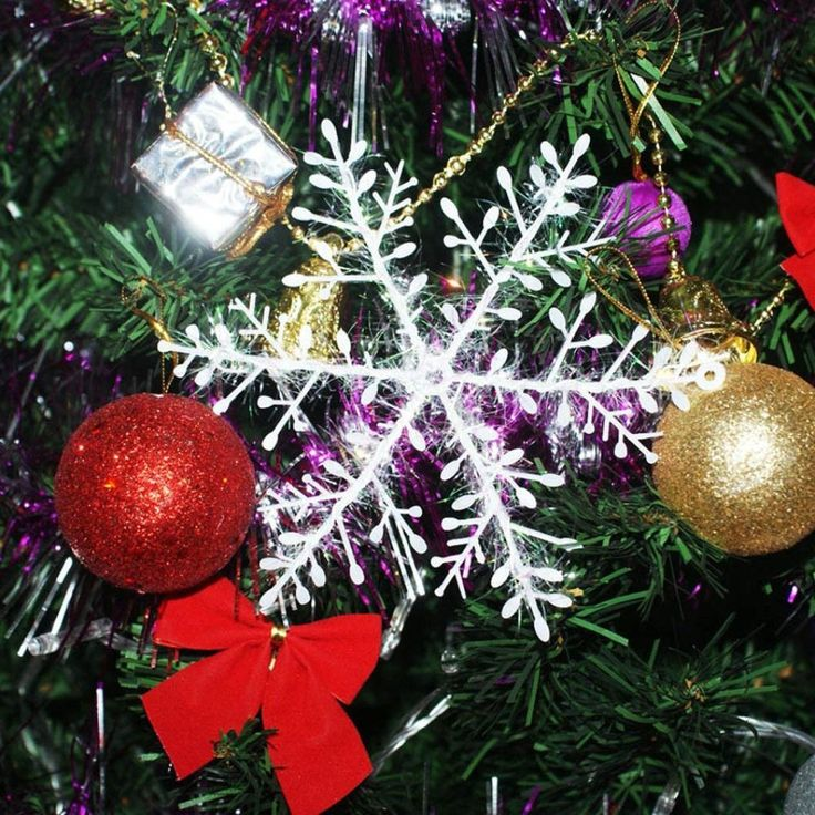 Christmas Tree Snowflake Ornaments Iusun Xmas Party Holiday Home Wall Window Decor 669