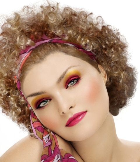 70's disco make-up