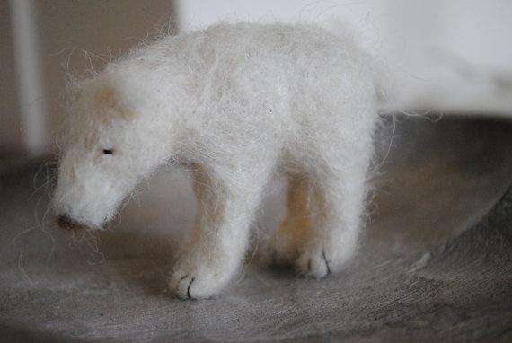 polar bear: Felt Polar, Polar Bears, Polar Nici, Needle Felt