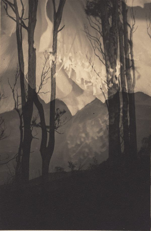 Distant hills, (circa 1935) by Olive Cotton :(Australia, 1911 - 2003)