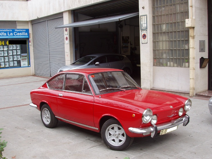 SEAT 850 Sport Coupé (1968)