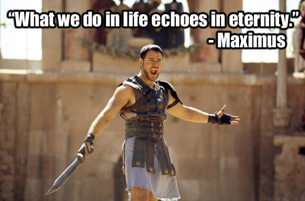 Best 25+ Gladiator Quotes Ideas On Pinterest