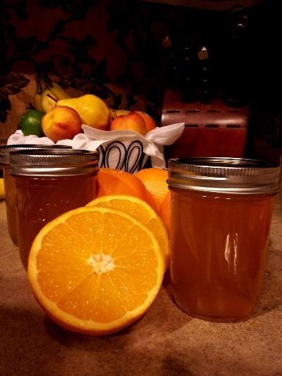 Homemade Orange Jelly