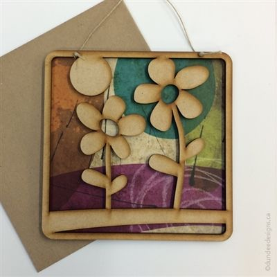 Flowers - Greeting Card/Wall Art by Shirley Lloyd-Davies, Dundee Designs Inc.