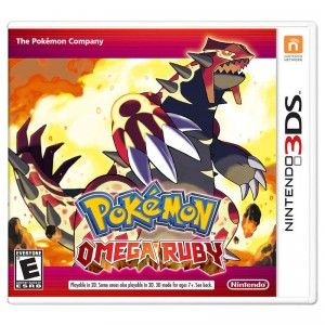 Pokemon Omega Ruby and Pokemon Alpha Sapphire are remakes of the 2003 Game Boy Advance games.