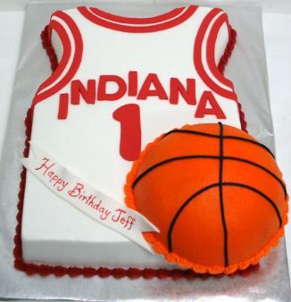 basketball birthday cake | Novelty birthday cakes for adults | Novelty Birthday Cakes
