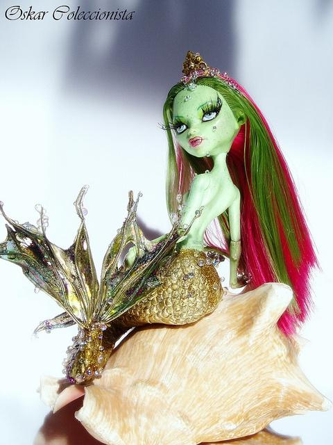 Venus Mermaid Monster High OOAK | Flickr - Photo Sharing!