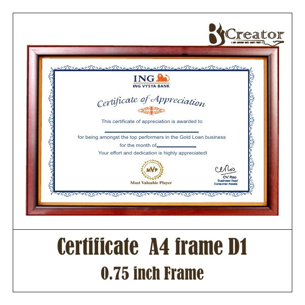 7 best Certificate frame images on Pinterest | For sale, Certificate ...