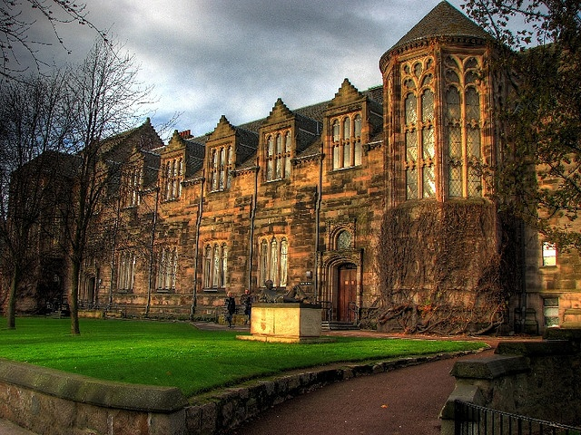 University of Aberdeen in Scotland!!