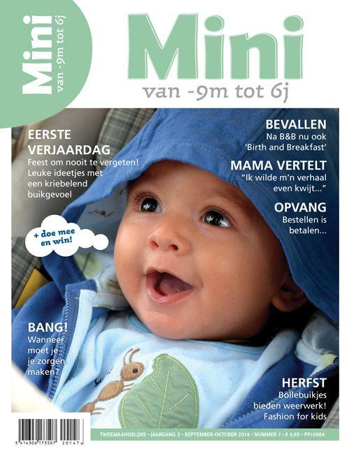 MINI, magazine over kinderwens, zwangerschap, bevalling, baby's, peuters, kleuters en opvoeding