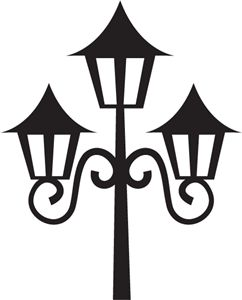 Silhouette Online Store - View Design #5013: french lamp post