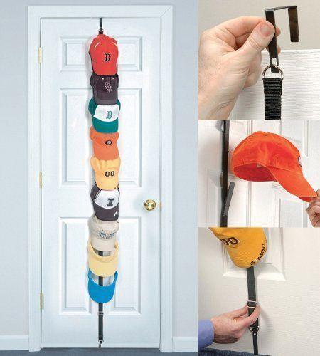 Best Over Door Hat Holder Caps Baseball Cap Rack Storage Closet Hanger  Organizer