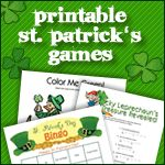 St. Patrick's Day Lessons, Activities, Books and More!