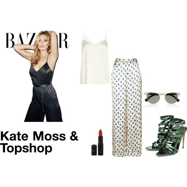 """""""Kate Moss for Topshop"""" by ralucadu on Polyvore"""