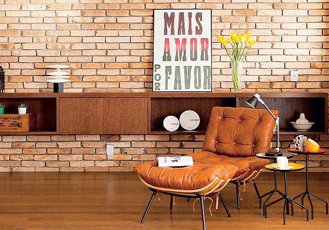 Tijolo à Vista - Referências pra sua casa | Haus Decoração