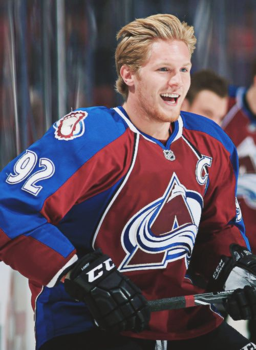 Gabriel Landeskog. Swedish NHL player for the Colorado Avalanche. Gabe the babe. Seriously.