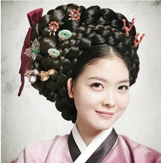 Wedding Hairstyle Korean: 17 Best Images About Korean Hanbok On Pinterest