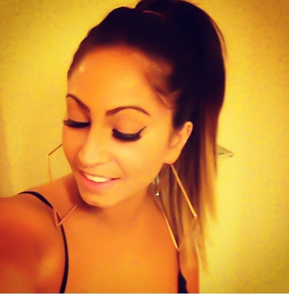 Tracy Dimarco | Hair | Beautiful | Ombré | High Pony | Gorgeous | Jerseylicious