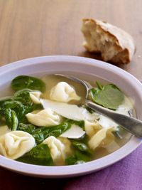 Spinach and Tortellini Soup - Healthy Recipe Finder | Prevention