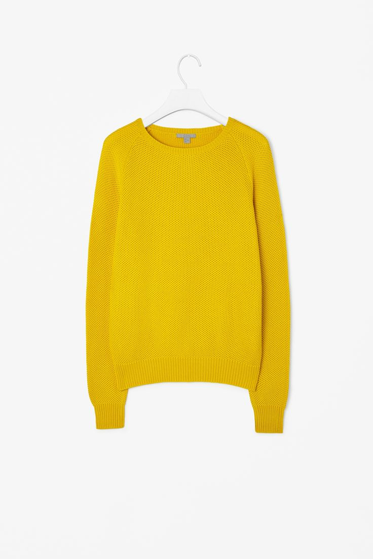 Textured knit jumper