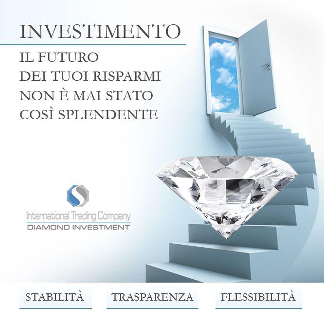 https://itcportale.it/?p=8602  Diamond Investment - Perchè investire ? Investi in totale sicurezza. Vuoi saperne di più ? http://www.investimentodiamanti.com