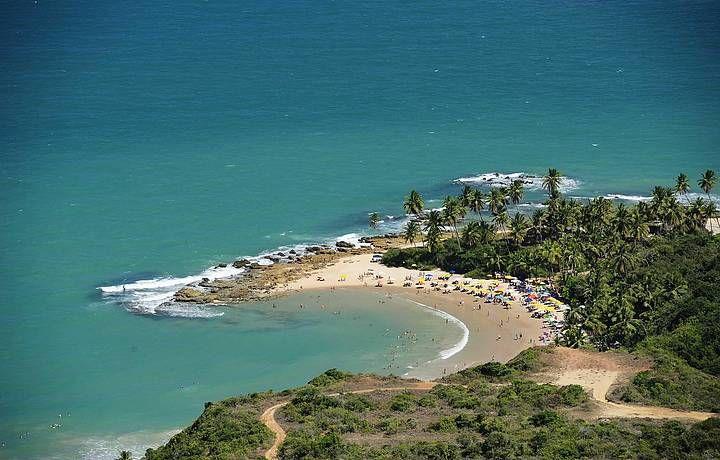 Praia do Coqueirinho, Paraíba, Brasil.